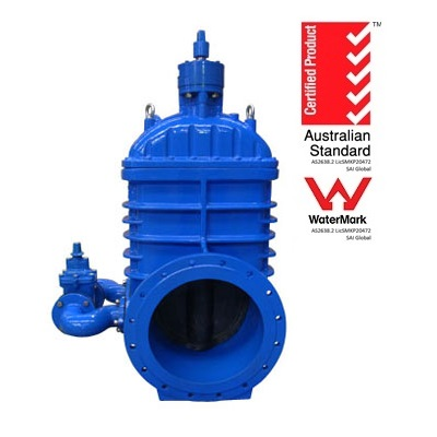 Resilient Seated Gate Valve with Bypass Valve DN375-DN750
